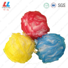 soft cleansing mesh bath sponge material